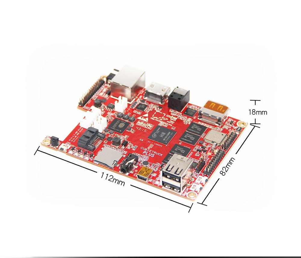 Анонсирован Cubieboard 5-Cubietruck Plus и HDD-RAID Shield - 7