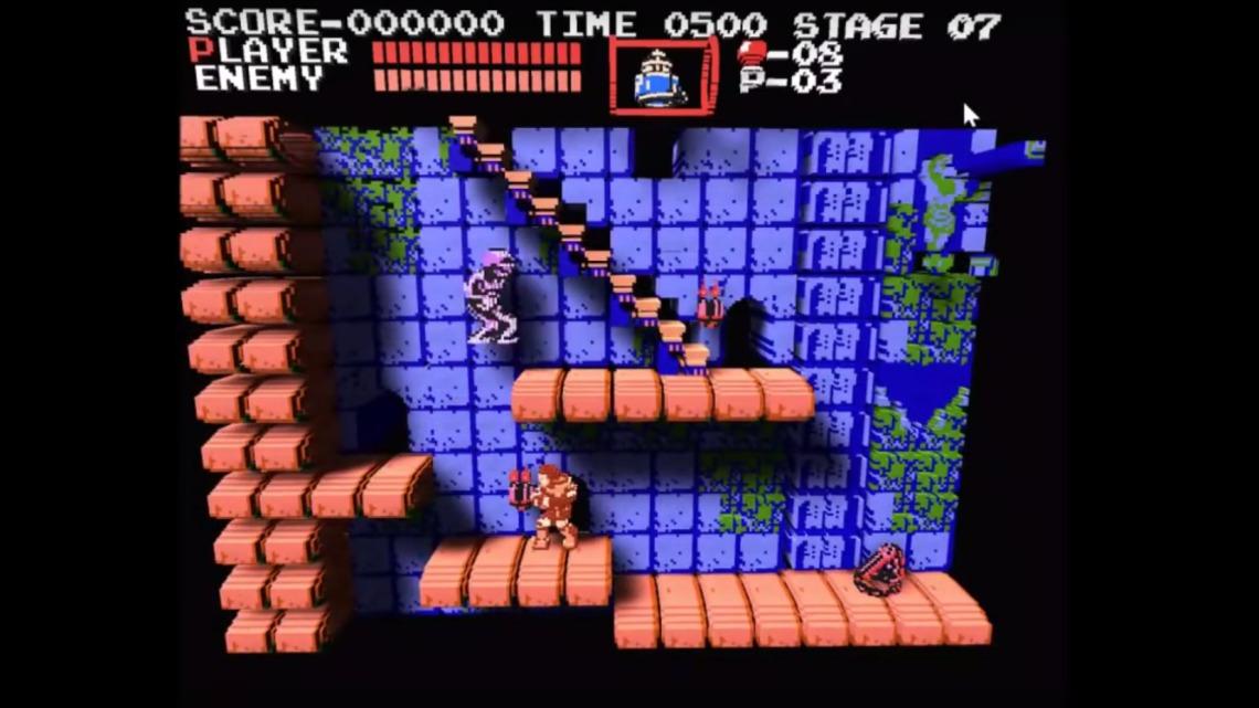 Как работает 3D эмулятор 8-битных NES игр? - 1
