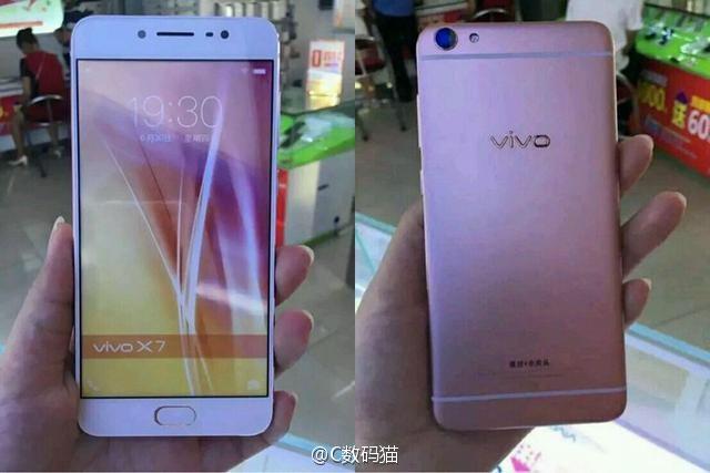 Смартфон Vivo X7 получит аккумулятор ёмкостью менее 3000 мА·ч