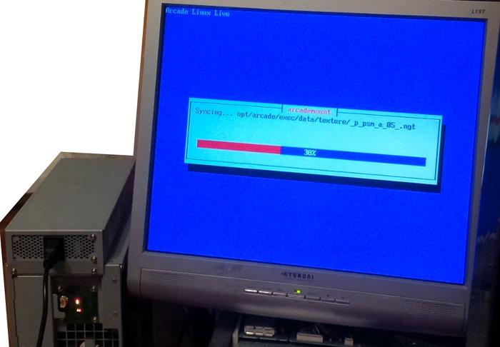 Namco System ES1 initialization