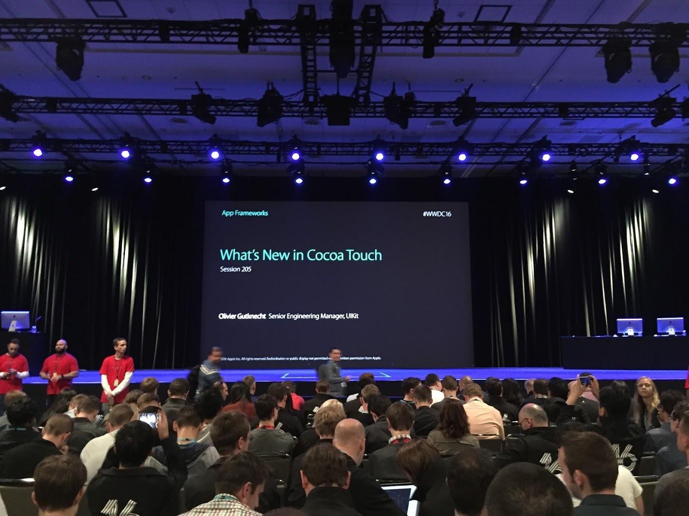 По следам WWDC 2016. Практическое руководство - 11