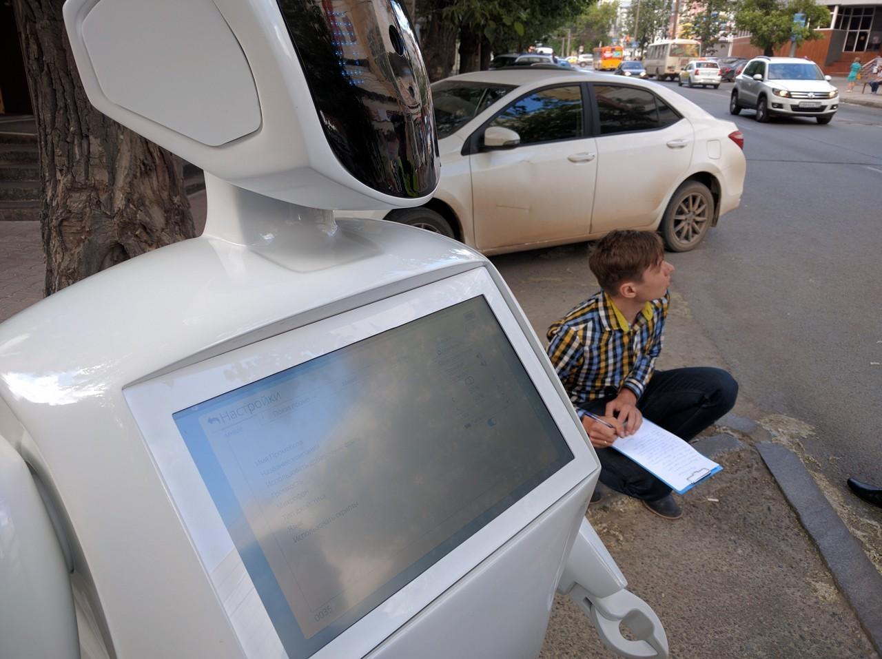 Самообучаемый российский робот IR77 опять «сбежал» на свободу - 3