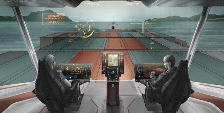 В Rolls-Royce полагают, что беспилотные суда и суда с дистанционным управлением появятся к 2020 году