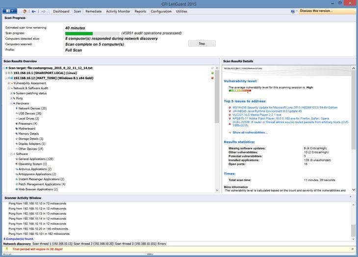 GFI LanGuard — виртуальный консультант по безопасности - 2