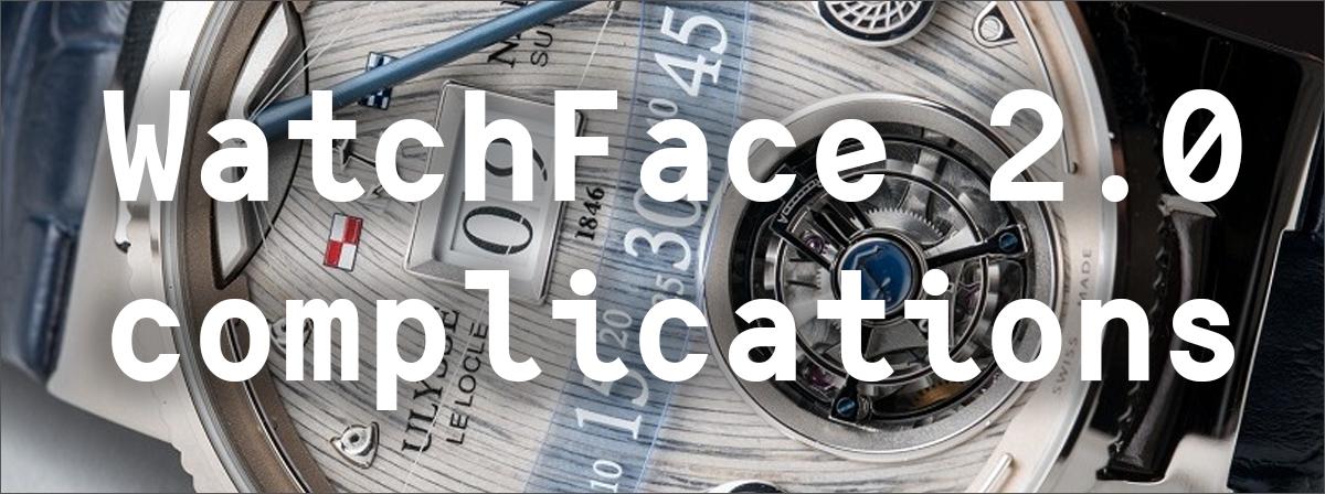 Google I-O 2016: WatchFace 2.0 — Complications - 1