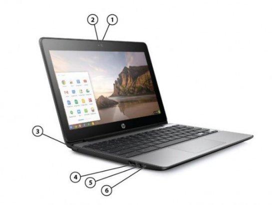 HP представила новый хромбук Chromebook 11 G5