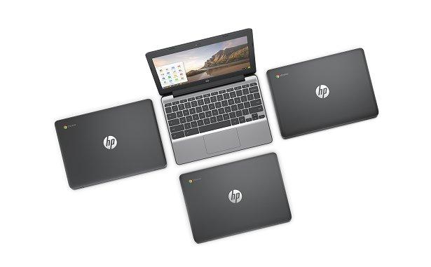 Хромбук HP Chromebook 11 G5 первым среди малых моделей получил сенсорный дисплей