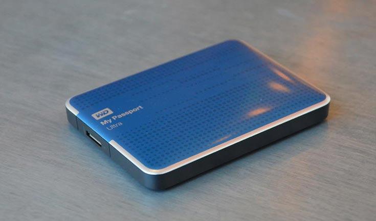 Накопитель My Passport Ultra объемом 4 ТБ уже доступен