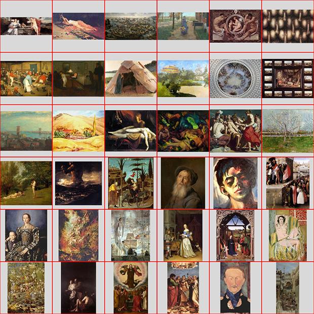 Пропорции в искусстве. Есть ли что-то лучше золотого сечения? Исследование более 1 000 000 старых и современных картин - 24