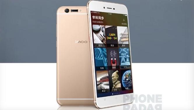 Смартфон Imoo M1000 получил странный элемент на тыльной стороне корпуса