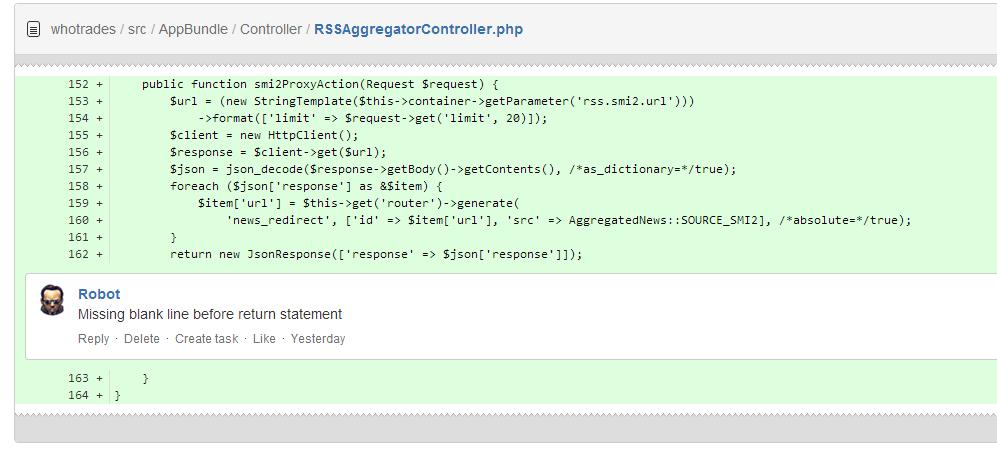 Внедрение code style в разработку - 1