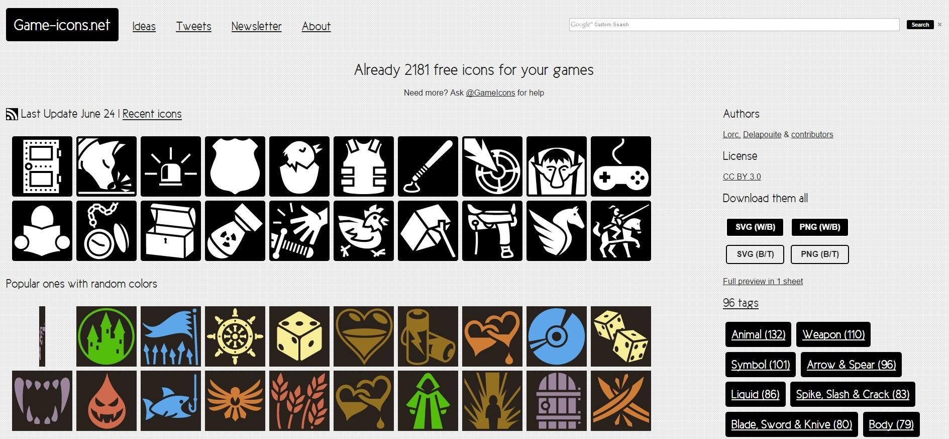 10 полезных сайтов с 2D ресурсами для игр - 10
