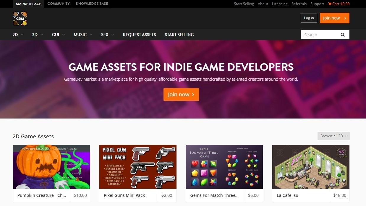 10 полезных сайтов с 2D ресурсами для игр - 3