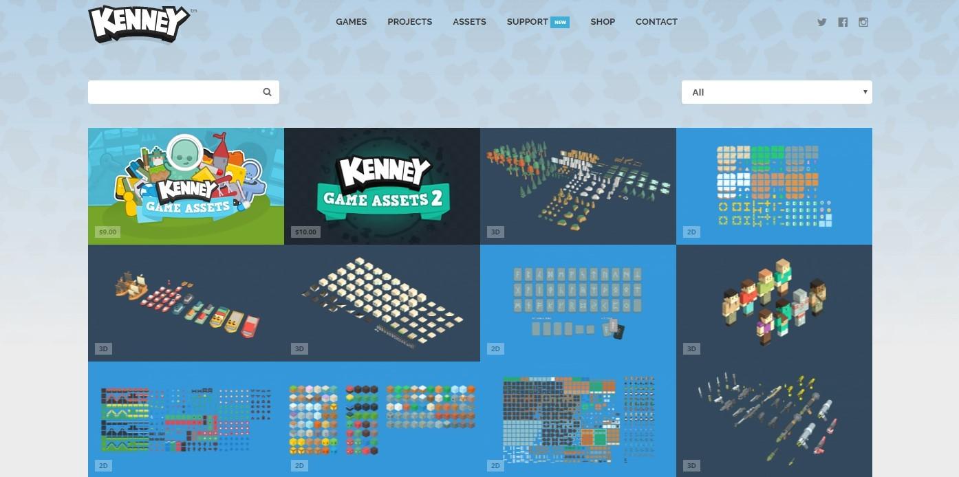 10 полезных сайтов с 2D ресурсами для игр - 9