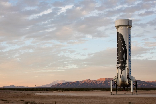Blue Origin работает над новым двигаталем