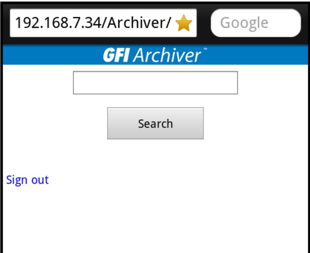 GFI Archiver: хранилище для почты - 5