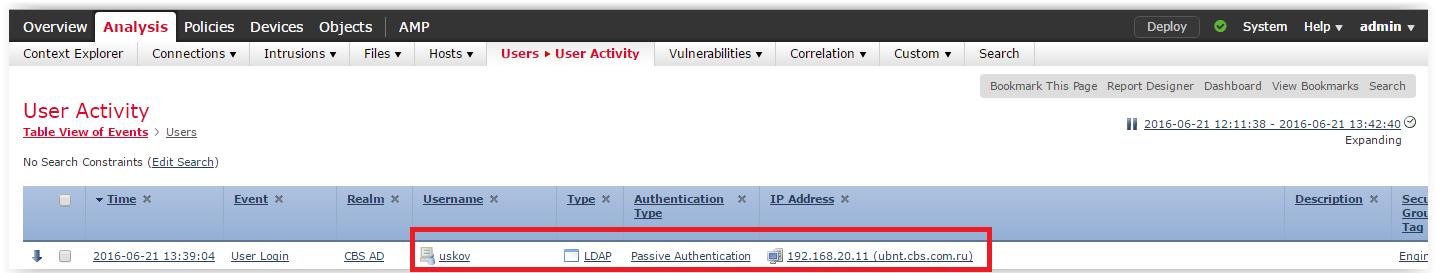Интеграция Cisco FirePOWER и ISE - 28