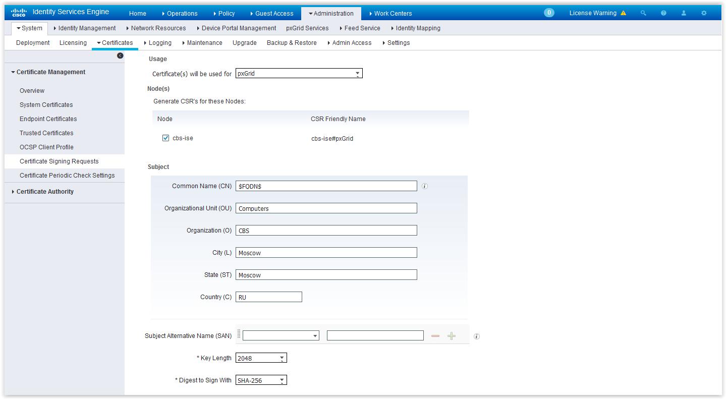 Интеграция Cisco FirePOWER и ISE - 7