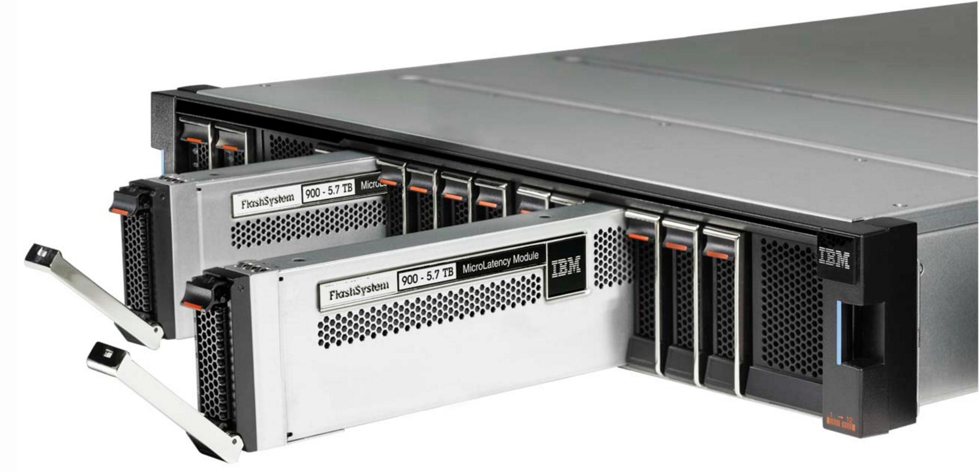 Внутри IBM FlashSystem 900 - 2
