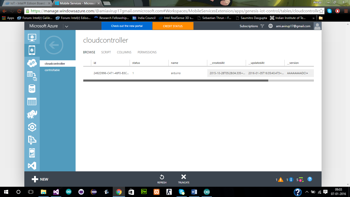 Intel Edison, Windows Phone и Microsoft Azure: облачный союз пульта и светодиода - 2