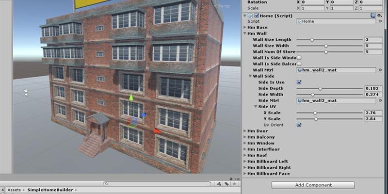 Unity: как мы создавали генератор домов для AssetStore или возвращение к хрущёвкам - 3