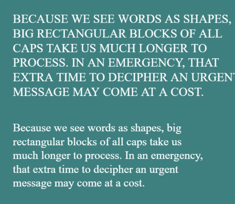 Как типографика может спасти вам жизнь - 4