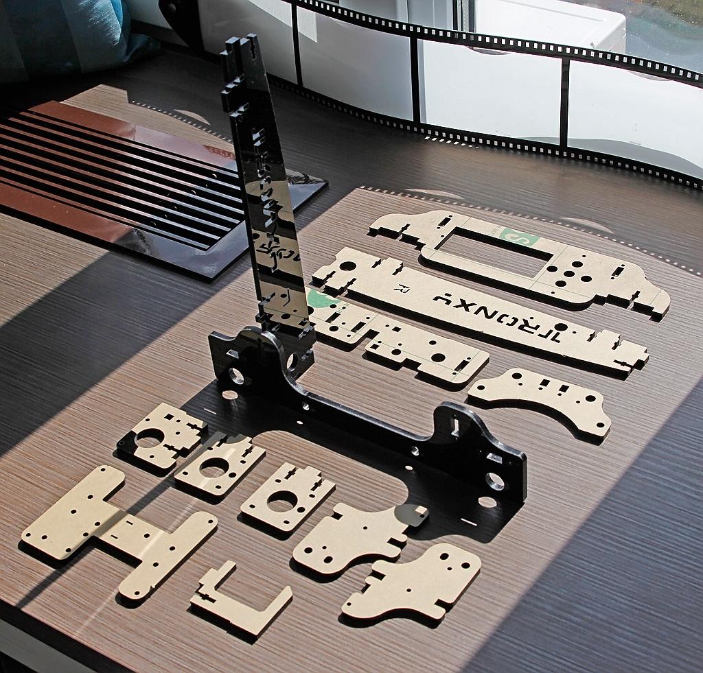 Когда размер не важен, потомок ToyRep – 3D принтер из Китая - 10