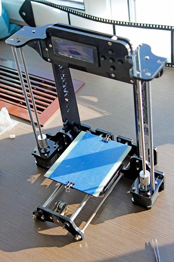 Когда размер не важен, потомок ToyRep – 3D принтер из Китая - 22