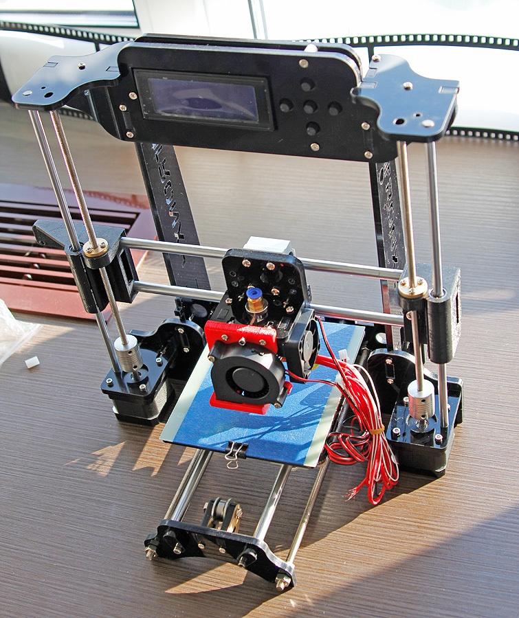 Когда размер не важен, потомок ToyRep – 3D принтер из Китая - 25