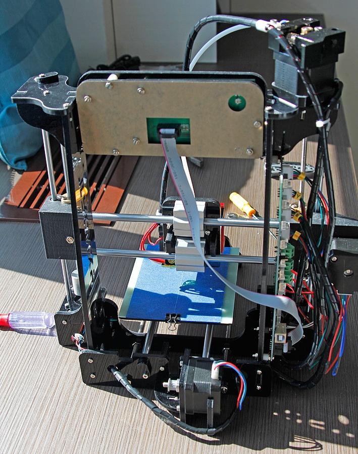 Когда размер не важен, потомок ToyRep – 3D принтер из Китая - 31