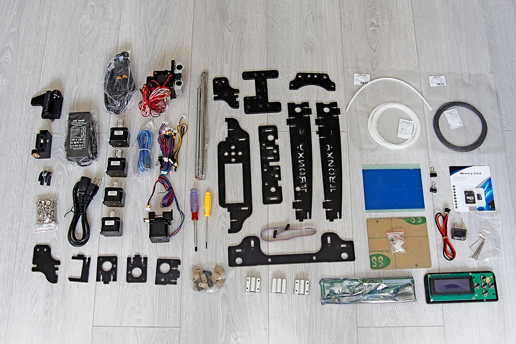 Когда размер не важен, потомок ToyRep – 3D принтер из Китая - 7
