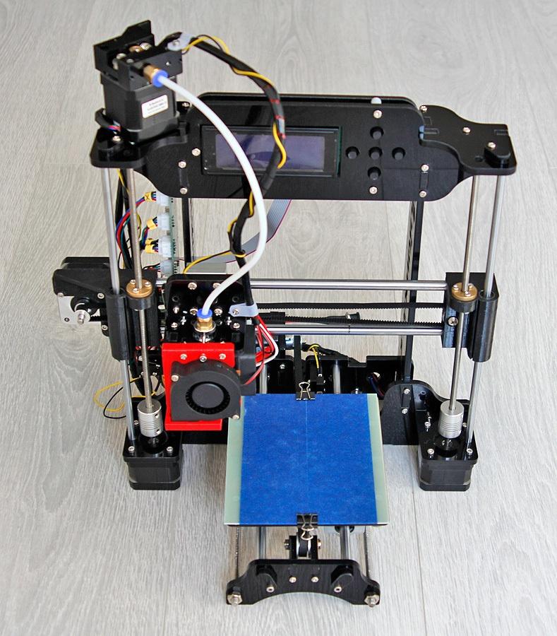 Когда размер не важен, потомок ToyRep – 3D принтер из Китая - 1