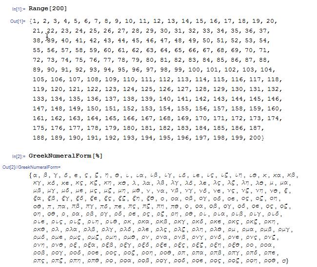 Математические обозначения: Прошлое и будущее - 3