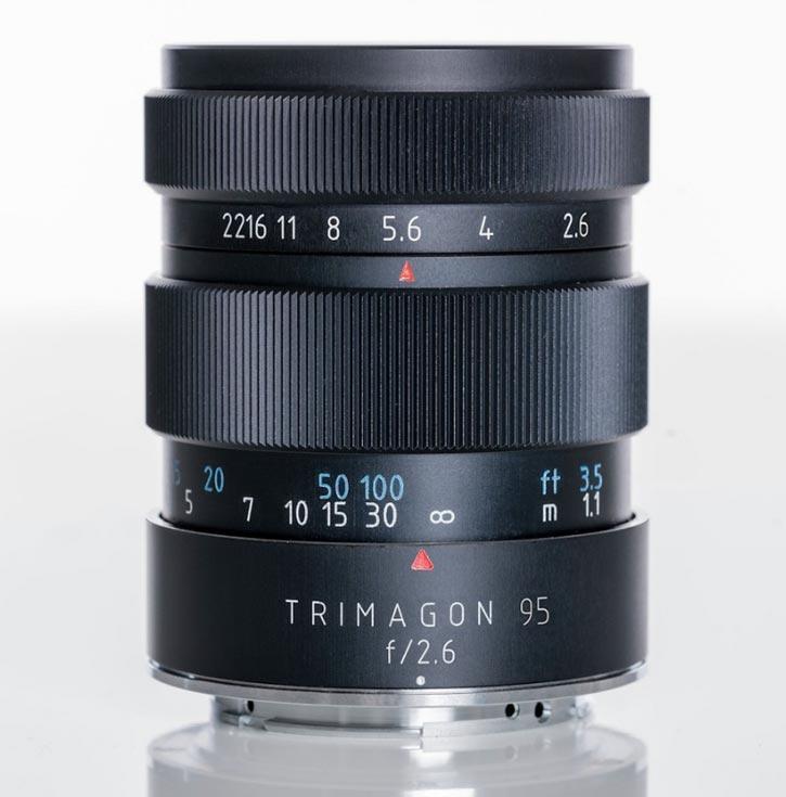Объектив Meyer-Optik-Gorlitz Trimagon F2,6 95MM доступен в вариантах с креплениями Canon, Nikon, Fujifilm X, Sony E, MFT, M42 и Leica M