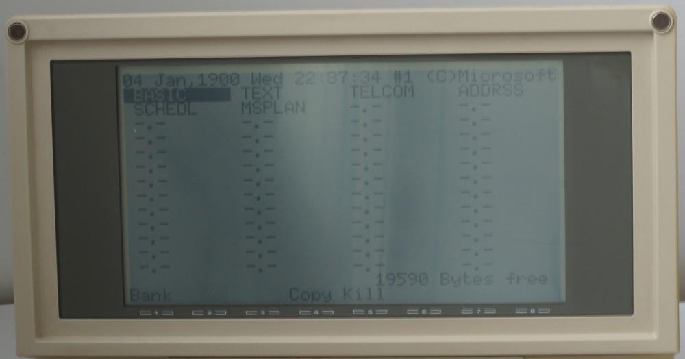 Ноутбук Tandy TRS-80 model 200 - 3