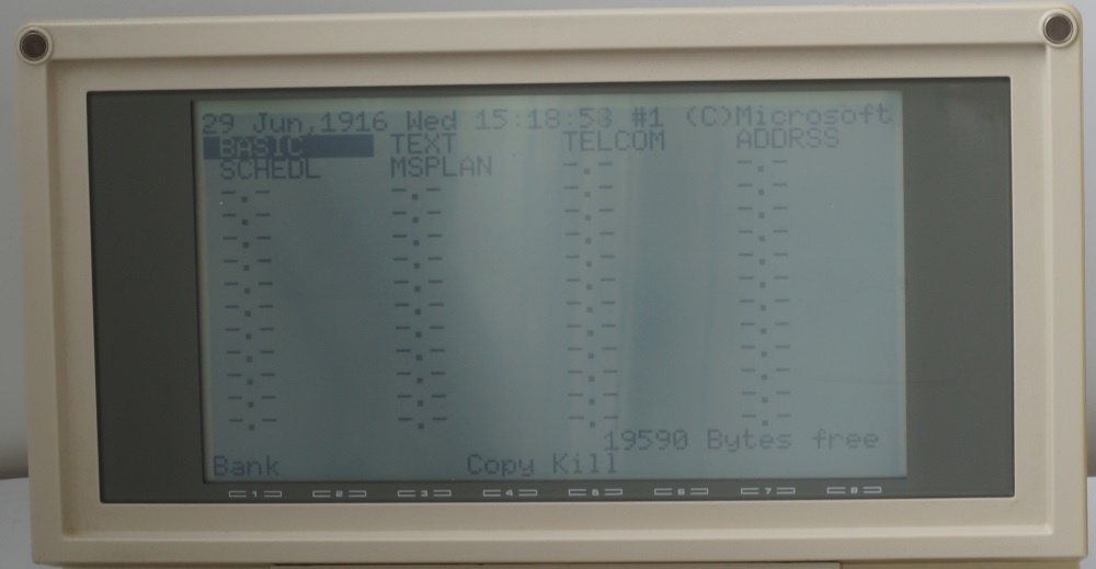 Ноутбук Tandy TRS-80 model 200 - 5