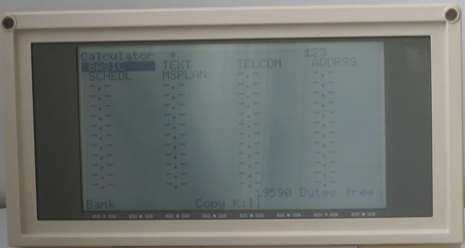 Ноутбук Tandy TRS-80 model 200 - 6