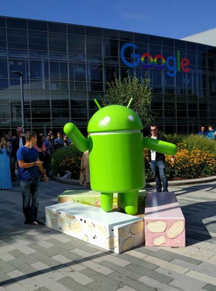 Nougat — имя новой ОС Android