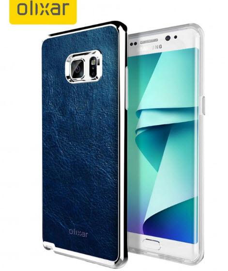 Производитель чехлов Olixar подтвердил наличие изогнутого дисплея у смартфона Samsung Galaxy Note7