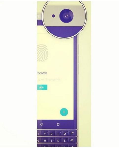 Смартфон BlackBerry Rome появился на снимках