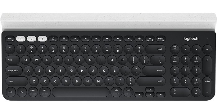 Logitech представила Bluetooth-клавиатуру K780