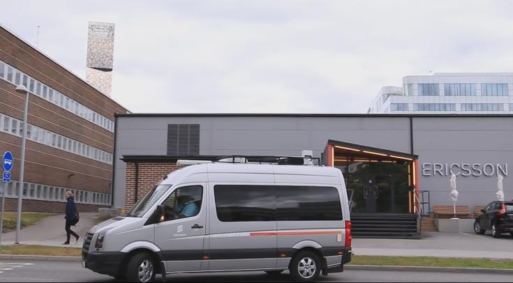 Местом демонстрации послужили улицы Стокгольма, прилегающие к штаб-квартире Ericsson