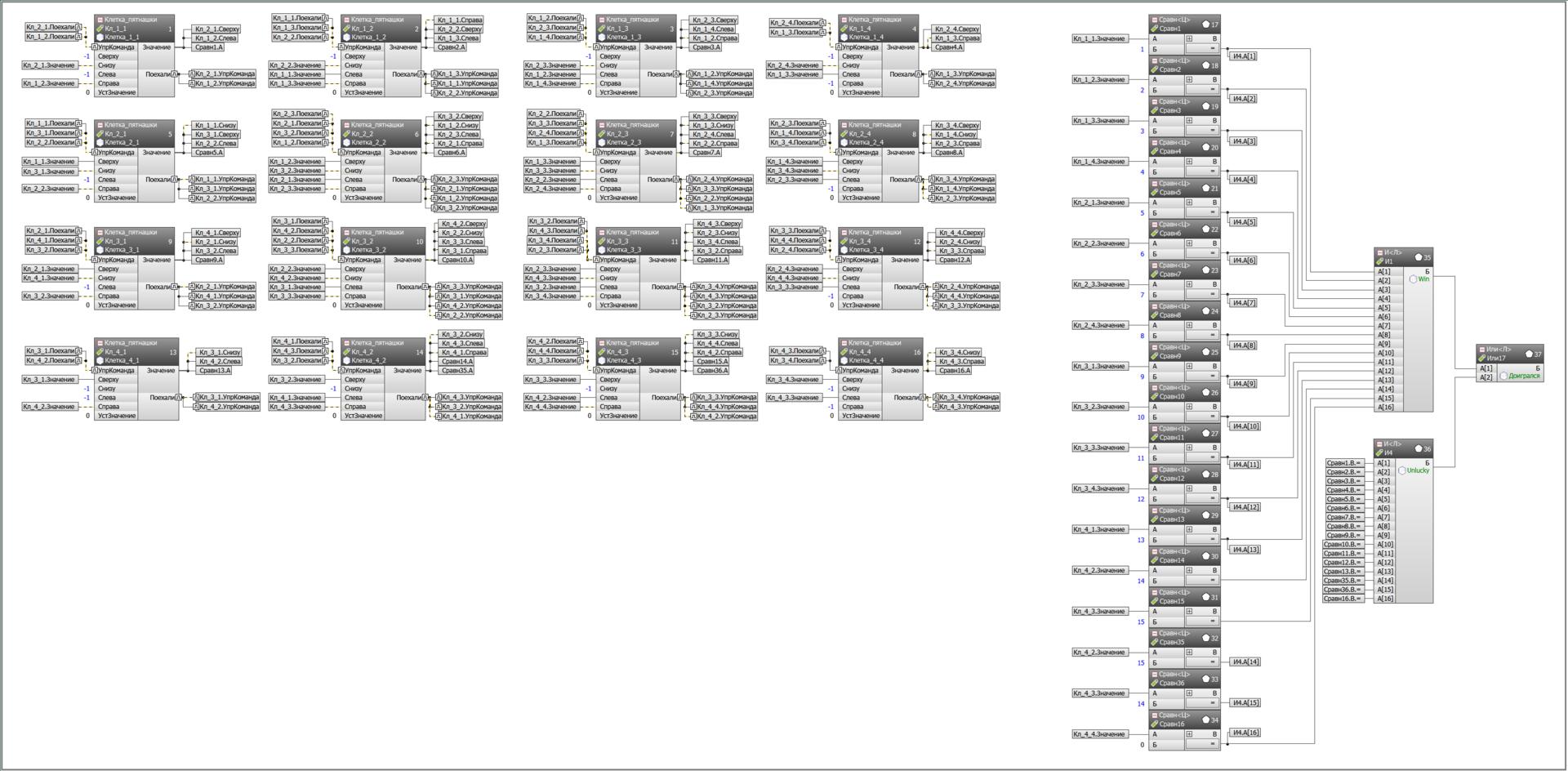 Пишем задачки на FBD. Пятнашки и Симпсон - 5