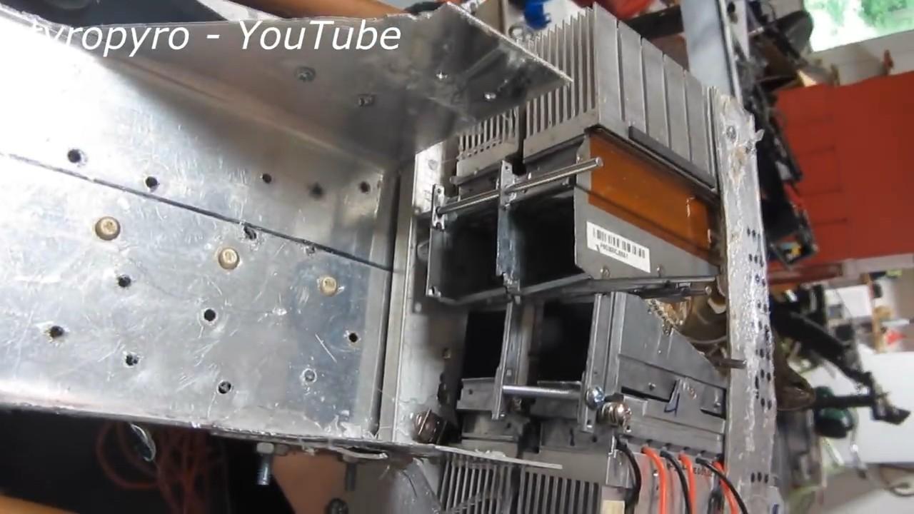 Самодельная световая базука на 200 Вт - 3