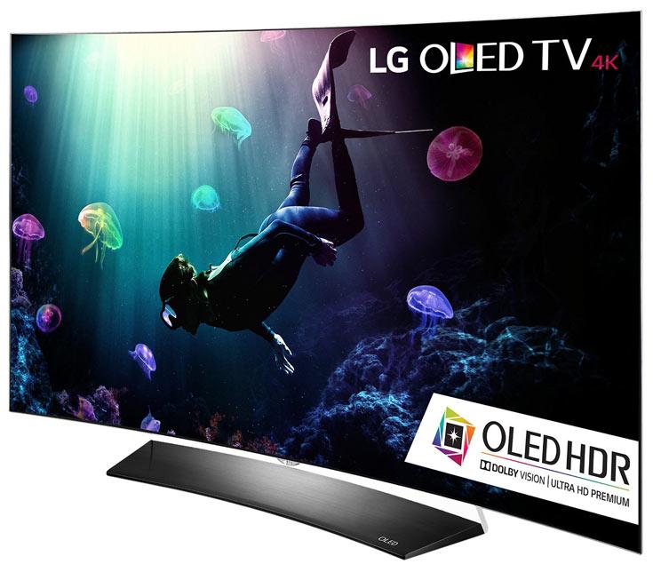 Компания LG настойчиво продвигает технологию OLED на рынке телевизоров