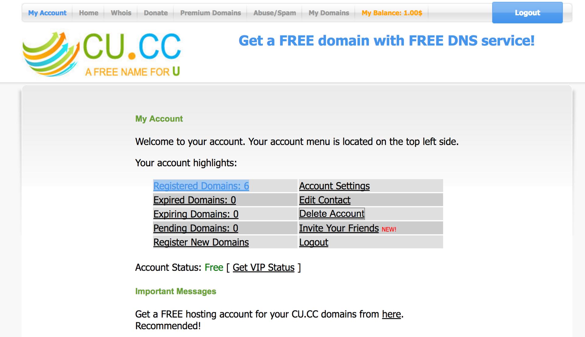 Получаем доменное имя, DNS и SSL сертификат нахаляву - 3
