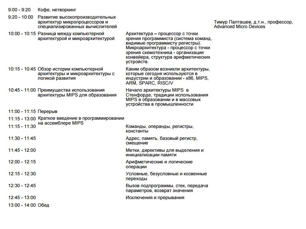 Семинары по введению во всё: от верилога и цифровой логики до микроархитектуры встроенных процессоров и RTOS-ов - 7