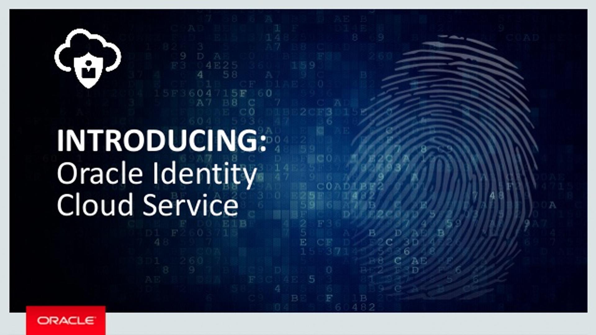 Identity Cloud Services — новое поколение идентификационных сервисов - 1