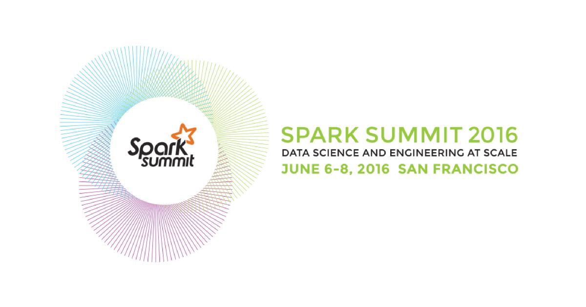 Spark Summit 2016: обзор и впечатления - 1
