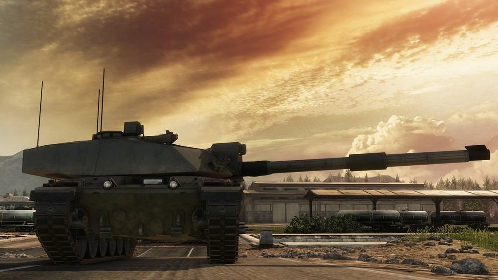Реальные танки в игровой вселенной - 11